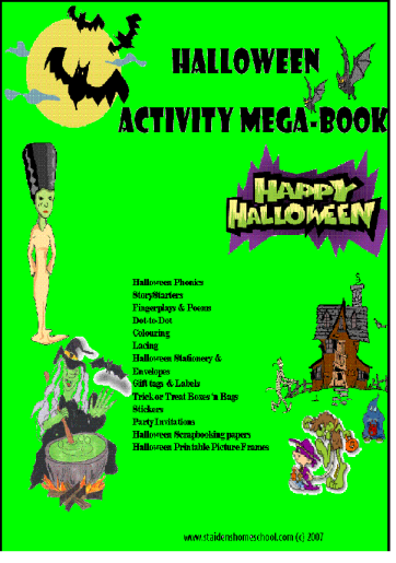 halloween mega activity cover
