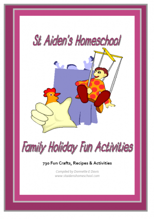 730 crafts, activities and recipes for family holiday fun.