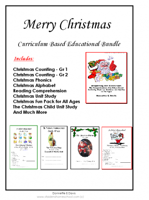 Christmas Theme Curriculum-Based Fun Educational Pack [BUNDLE]