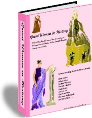 great women in history, pdf unit study for elementary schools by Donnette E Davis, st aidens homeschool