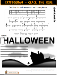 St Aiden's Homeschool, PreK-Grade 6 Halloween Worksheets
