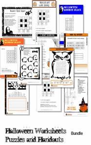 halloween printable activities puzzles games and worksheets instant downlaod. Black Bedroom Furniture Sets. Home Design Ideas