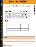 St Aiden's Homeschool, PreK-Grade 6 Halloween Worksheets