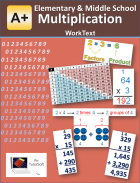 Elementary & Middle School - Multiplication WorkText - A+ TutorSoft, Inc - MATH | MATH Supplements - eBooks | CurrClick