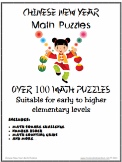 chinese new year math puzzles