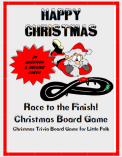 Race to the finish board game cover